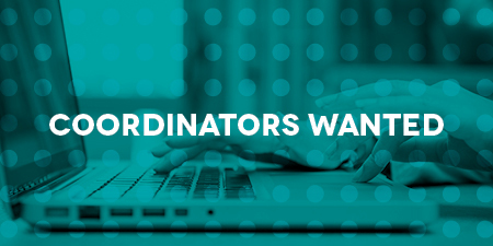 Coordinators Wanted